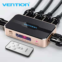 Tions HDMI Splitter Schalter 5 eingang 1 ausgang HDMI Switcher 5X1 3X1 für XBOX 360 PS4 /3 Smart Android HDTV 4K 5 Port HDMI Adapter