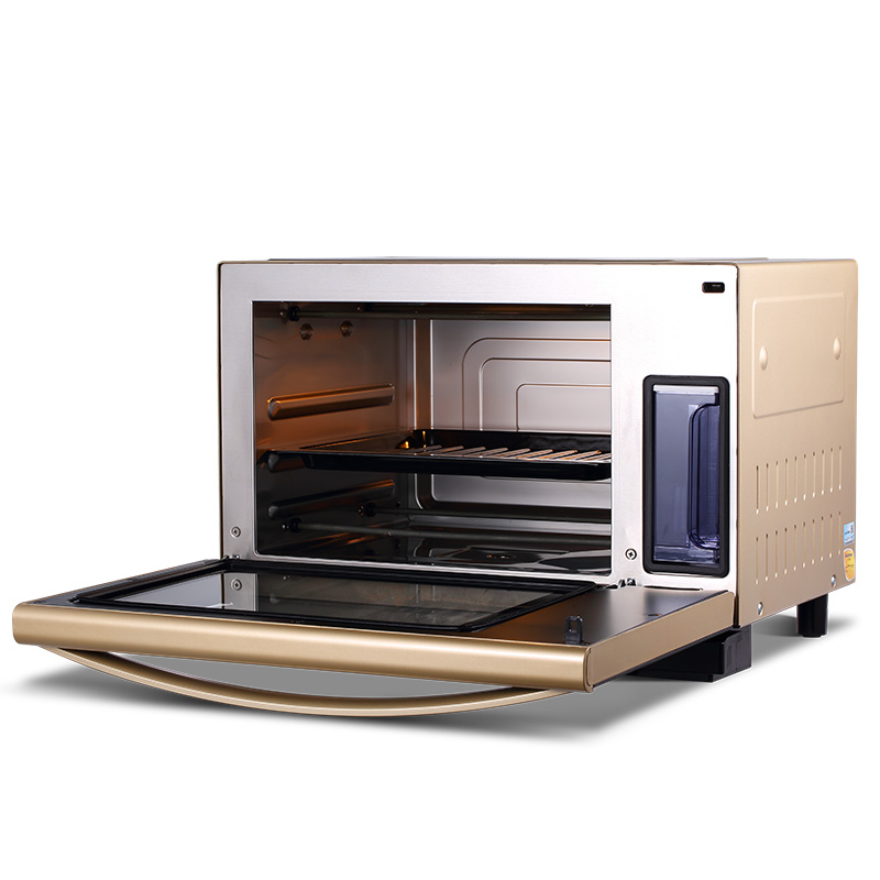 220V Household Electric Baking Oven Multifunctional Electric Steaming Oven Barbecue Stove 28L Big Capacity EU/AU/UK Easy Operat