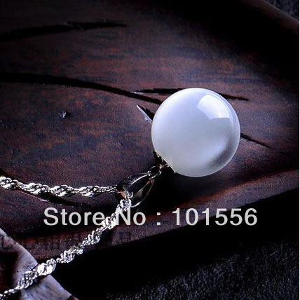 Fashion top quality white copper cat eye moonstone for Cat s eye moonstone jewelry