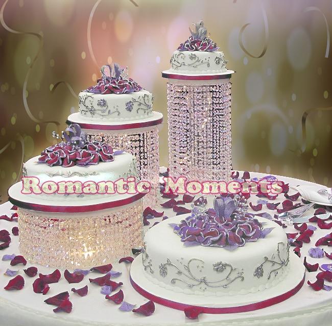 Big Size Diameter Cm Wedding Cake Stand Crystal