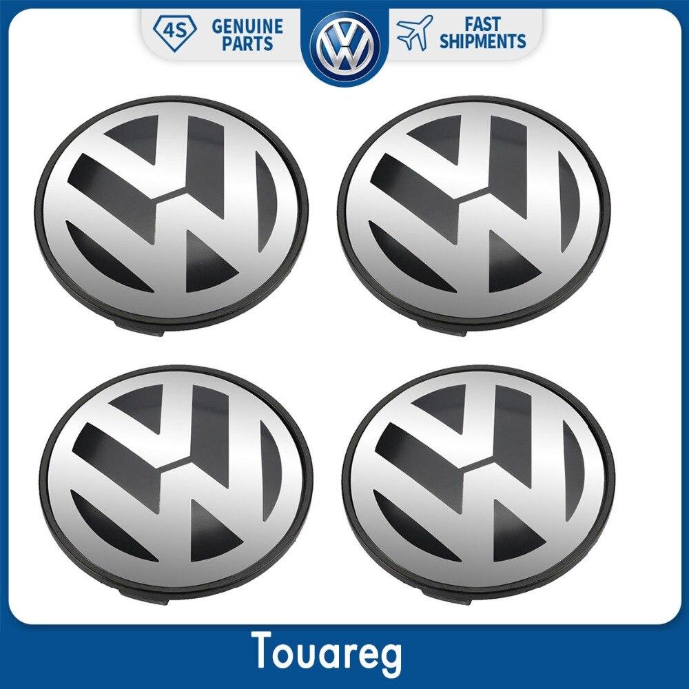 цена на 4pcs 70mm Wheel Center Hub Cover Cap For Volkswagen VW Touareg 7L6 601 149 B RVC
