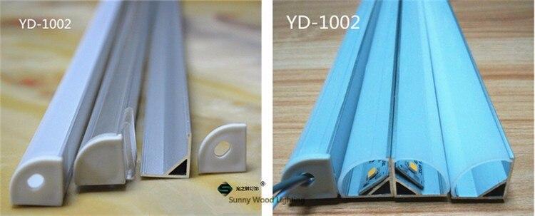 perfil de alumínio para 10 milímetros placa