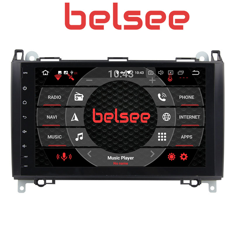 Belsee PX5 4GB Android 8.0 Car Radio for <font><b>Mercedes</b></font> Benz W169 B200 <font><b>B180</b></font> W245 Sprinter Viano Vito Stereo Autoradio <font><b>GPS</b></font> Navigation image