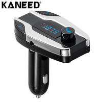 Hands Free Bluetooth Car Kit Auto USB Charger For IPhone 6s Samsung Car MP3 Player Wireless