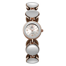 Новый дизайн браслет часы браслет часы женские часы Европейской и Американской моды дикий женский браслет часы