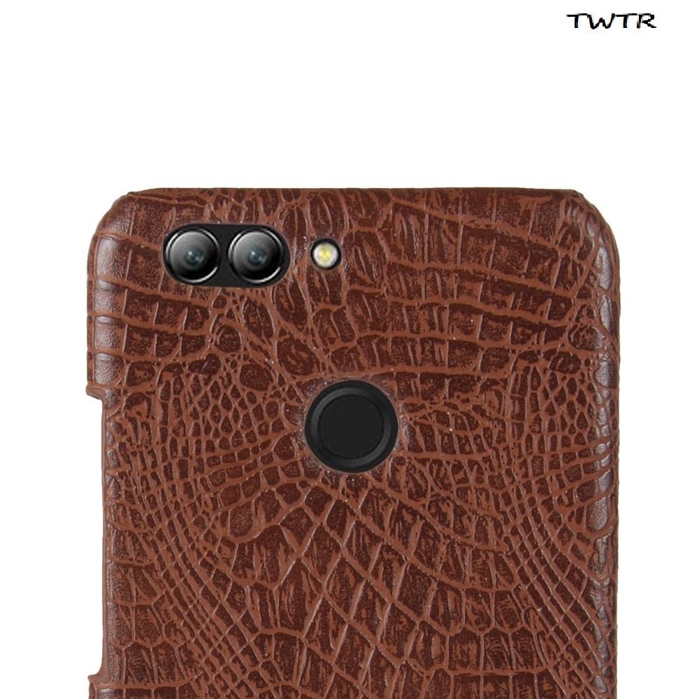 Leather Case for Huawei NOVA 2 Plus BAC-L21 BAC-L01 Phone Bumper Fitted Case for Huawei NOVA2 Plus Barca-L21 BAC L21 PC Cover