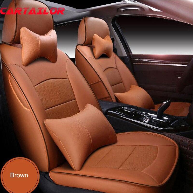 Couverture de siège de voiture en cuir pour VOLVO V40 housses de siège accessoires de voiture housse de siège d'automobiles ensemble protecteur de coussin personnalisé
