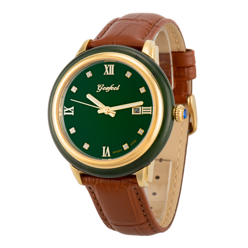 2020 Time-limited New Hetian Jade Watches Chinese Fengyuan Craft Couple Automatic Machinery Watch Manufacturer