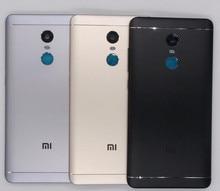 Новый для Xiaomi Redmi Note 4×32 ГБ запасных Запчасти сзади Батарея крышка двери Корпус + боковые Пуговицы + Камера стеклами Замена