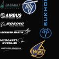 MCDONNELL DOUGLAS Mikoyan MIG Northrop Grumman Sukhoi BOEING AIRBUS LOCKHEED MARTIN Dassault Aerospace Aviation Mens T Shirts