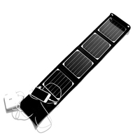 High Quality14W Foldable Solar Panel Charger For Iphone Camping MP3 Solar Battery Charger Sunpower Solar Panel