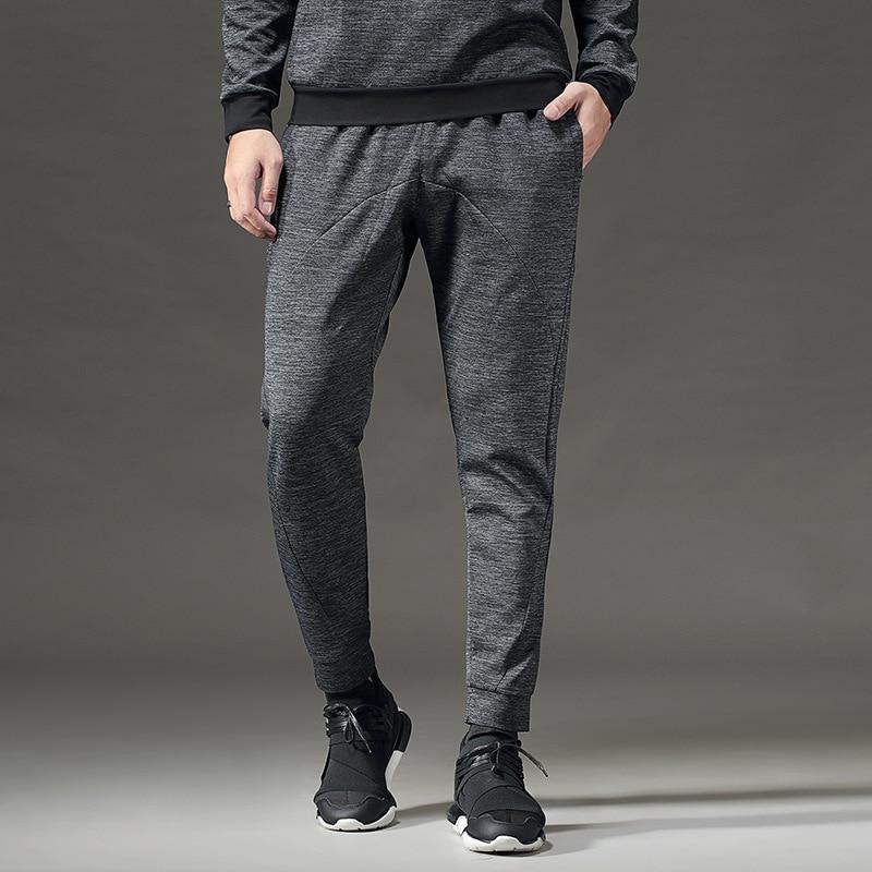 Hommes printemps sportswear d'automne hiver deux pièces sport costume hommes vêtements de course tenue décontracté homme Sweatshirts hommes ensemble vêtements - 5