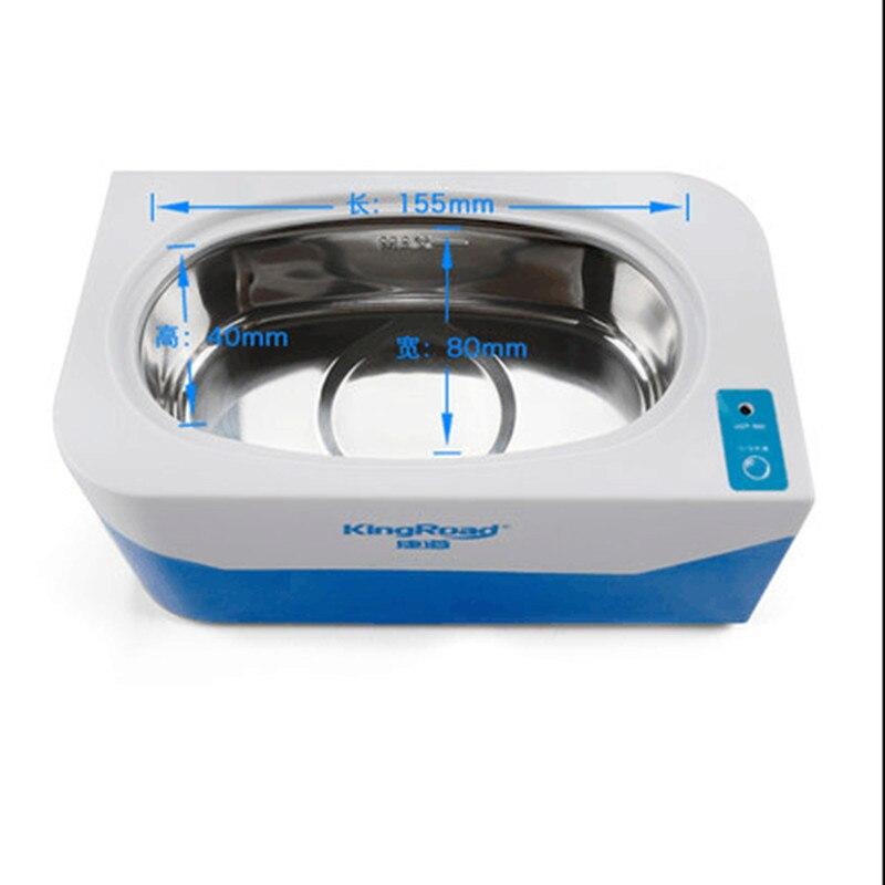 все цены на 110V 220V Household Electric Ultrasonic Cleaner Wash Denture Glasses Jewelry Cleaner EU/AU/UK/US Plug 3 Minutes Timer онлайн