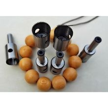 14 15 16 18mm 4PCS/LOT Round Ball Making Tools High-Speed Steel Beads Knife Woodworking Fine-tooth Beads Cutter Rosary Hardwood стоимость