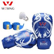 Фотография Free shipping Wesing sanda training equipment set boxing glove teeth protector