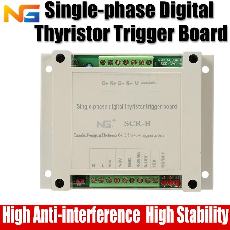 Single-phase phase shift thyristor Voltage regulator and temperature controller SCR shanghai nenggong all isolated single phase thyristor thyristor intelligent ac voltage regulation module mt2ac 1 220v150a