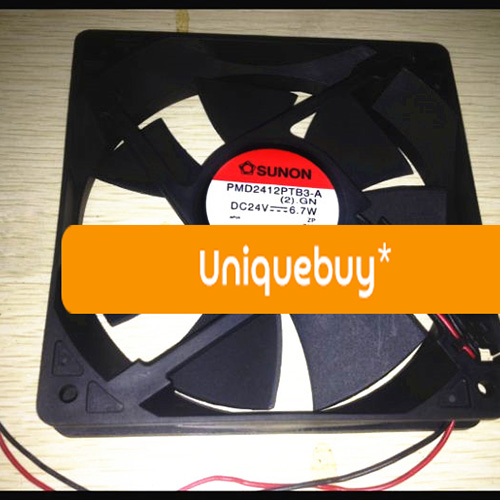 PMD2412PTB3-A(2).GN DC24V 6.7W For Sunon drive fan 120*120*25mm sunon pmd1204ppb1 a   2  gn dc 12v