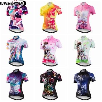 b6bfc167 Weimostar 2019 camiseta de Ciclismo para mujer, Tops para deportes al aire  libre, camiseta