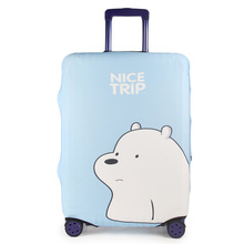 Cartoon Fashion Cute Bear Dust Cover Luggage Protective Cases Travel Suitcase Organizer Accessories Supplies Elasticity Products