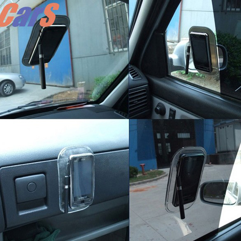Magic Sticky Pad Anti-Slip Mat Car Phone Holder Rubber Car Phone Sticker Anti-Slip Skidproof Car Tablet Dash Pad car-styling