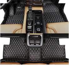 lsrtw2017 leather car floor mat for volvo xc90 2004 2005 2006 2007 2010 2011 2012 2013 2014 2015 2016 2017 2018 2019 2020 rug