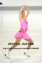 Custom Adult Figure Skating Dresses For Women Graceful New Brand Ice Skating Competition Dresses DR3951