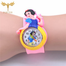 Classic Kids Little Girls Watch Pink Rubber Princess