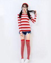 ¿ Dónde Está Wally cosplay erótico disfraces de Halloween Ropa de adultos disfraces para mujeres lanzador fancy Cosplay party set traje atractivo