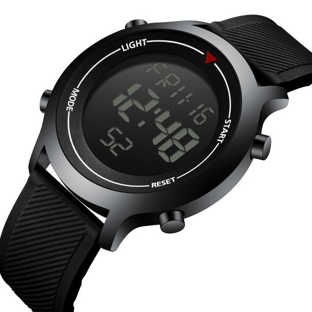 LED Display Waterproof Military Sports Watch