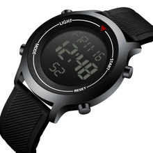 Man Digital Watch LED Display Waterproof Military Sports Watch Men's Wrist Elect