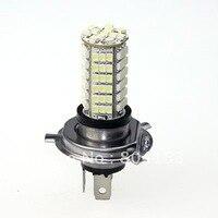 Free Shiping 1 Pair Car 102 LED 3528 SMD Xenon White Bulbs H4 Fog Light Bulb
