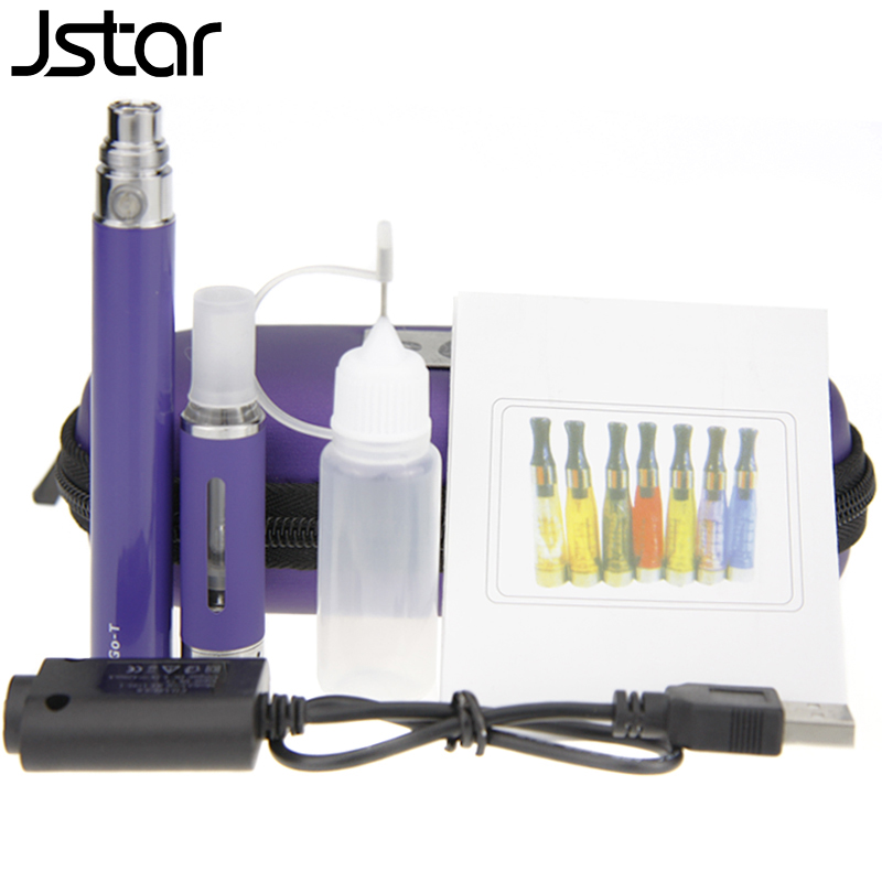 100pcs/lot Jstar MT3 Atomizer for Electronic Cigarette EGO batte Zipper Case Kit Clearomizer for E cigarette 2.4ohm Free DHL
