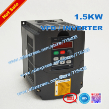 цена на 1.5kw Variable Frequency Drive VFD Inverter 2HP 220V or 110V / 7A