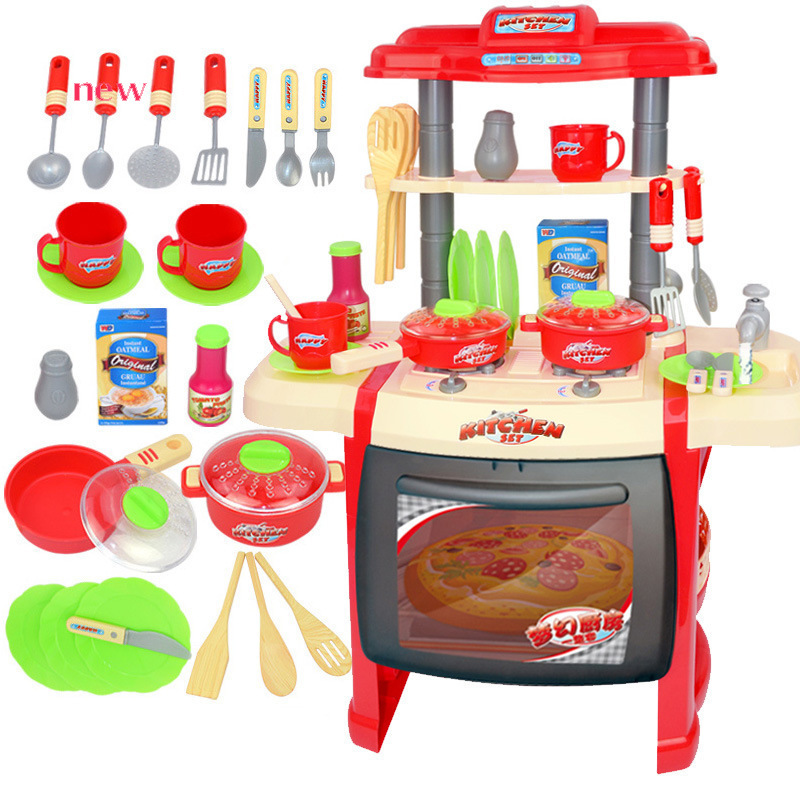 Cook Toys Children House Toys Baby Simulation Bring Music Lighting Kitchen Ware Toys Girl Kitchen ToysCook Toys Children House Toys Baby Simulation Bring Music Lighting Kitchen Ware Toys Girl Kitchen Toys