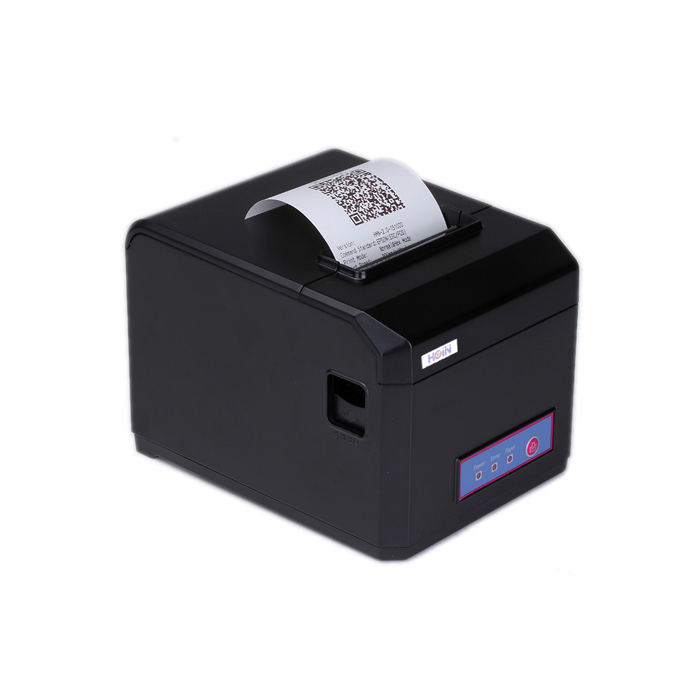 HOP-E801 80MM Thermal Printer Receipt Machine Printing Support USB+BT(3.0+4.0) Connection Bar code barcode label printers 80mm thermal printer new upgrade quality hprt lpq80 printers pos printer barcode printer