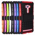 Ударопрочный Резиновый Броня Kickstand Жесткий Стенд Case Для Asus Zenfone Selfie ZD551KL Сотовый Телефон Защитная Крышка Прочная Кожа