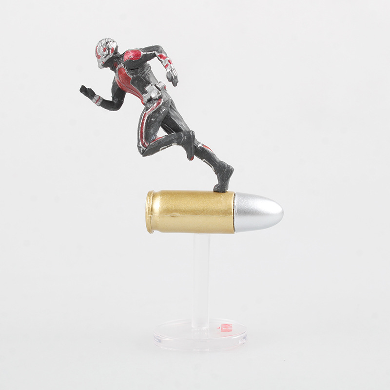 Marvel Civil War Captain America Super Hero Ant Man Wasp Mini PVC Action Figure Collectible Model Kids Toys Doll 6.5cm image
