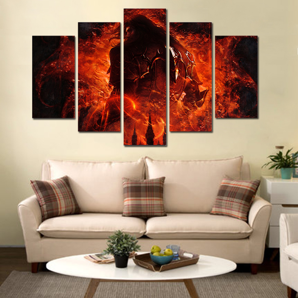 Unframed HD Canvas Prints King Of Fight Giclee Wall Decor Prints Wall Pictures For Living Room Wall Art Decoration Dropshipping