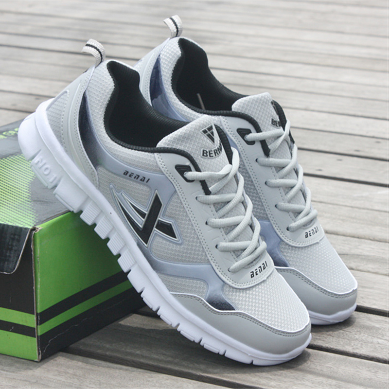 Men Sneakers Breathable Mesh Male Shoes Adult Fashion Men Krasovki Light Trainers Sneakers Shoes Men Baskets Homme hiking shoe