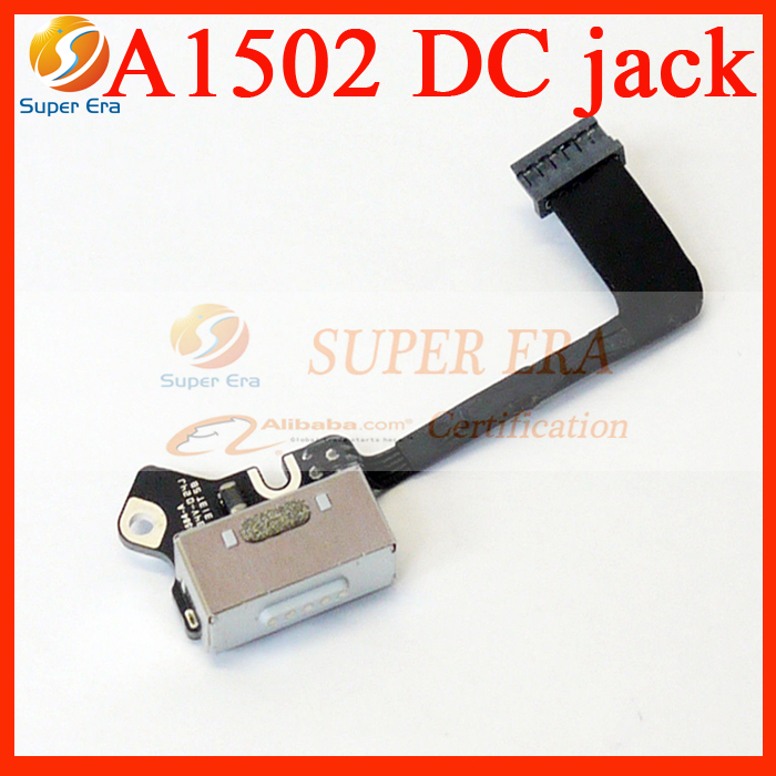 NEW Replacement DC I/O in board for MacBook Pro Retina 13 A1502 DC Jack power board 820-3584-A 2013 2014 2015year i o board usb sd card reader board 820 3071 a 661 6535 for macbook pro retina 15 a1398 emc 2673 mid 2012 early 2013