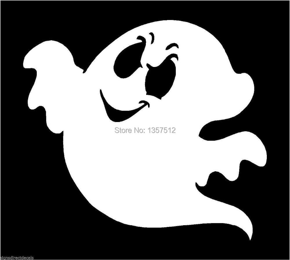 Ghost Spook Spectre Phantom Graphic Car Window Sticker