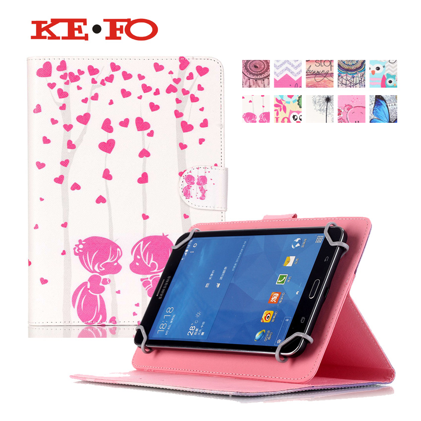 Leather Case For ASUS Zenpad 8.0 Z380 Z380KL Z380C For Alcatel Onetouch Pop 8 8S 8.0 inch Universal Tablet cover S4D69D аксессуар защитная пленка alcatel onetouch 5022 pop star red line
