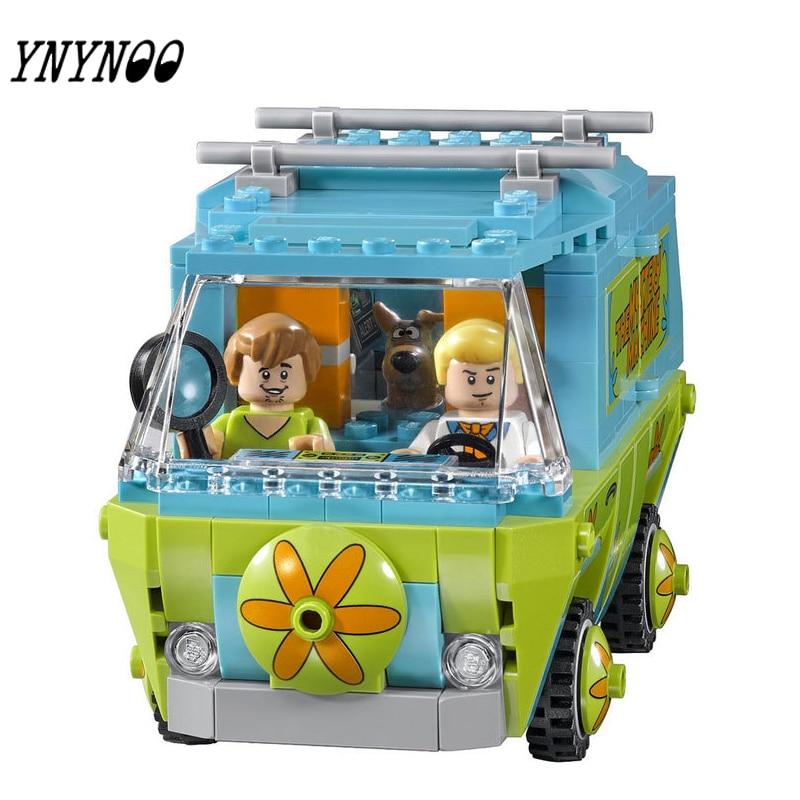 YNYNOO) 305 stücke 10430 Die Geheimnis Maschine Scooby Doo Fred ...