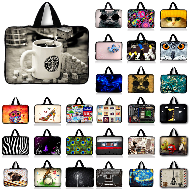 """Coffee Cup notebook laptop sleeve bag case For Asus HP Acer Lenovo 10.1 11.6 12 13.3 14"""" 15.4 15.6 17 inch Computer Netbook"""