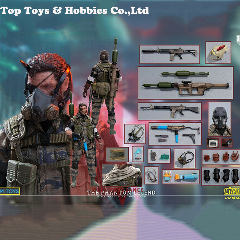 LIM TOYS 1/12 Ismael Head Sculpt & Body & Weapon Models Set LIMINI AEHAB Toys