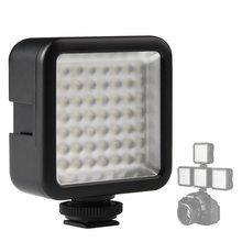 LimitX מיני LED וידאו אור פנל לסמסונג גלקסי NX NX1 NX5 NX20 NX30 NX100 NX200 NX210 NX300 NX300M NX500 דיגיטלי מצלמה