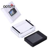 OOTDTY Sport Actie Video Camera 'S Accessoires Verwijderbare LCD BacPac Display Monitor Screen + Rear Cover Set Voor GoPro HERO