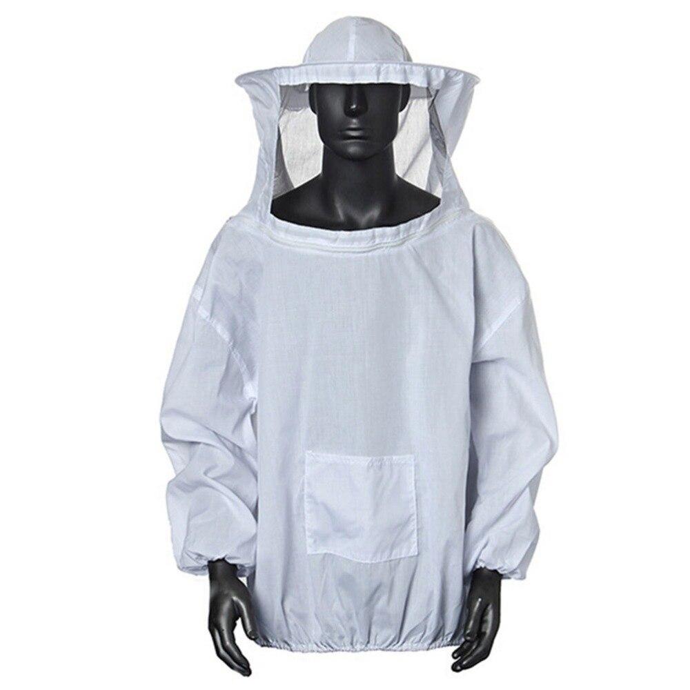 Durable Beekeeping Jacket Veil Smock Equipment Supplies Bee Keeping Hat Sleeve Suit High-quality CottonDurable Beekeeping Jacket Veil Smock Equipment Supplies Bee Keeping Hat Sleeve Suit High-quality Cotton