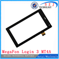 Original 7'' inch touch screen panel digitizer glass Sensor replacement for MegaFon Login 3 MT4A Login3 MFLogin3T Free shipping
