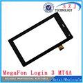 Original 7 '' pulgadas pantalla táctil digitalizador del Sensor de reemplazo cristal para MegaFon sesión 3 MT4A Login3 MFLogin3T envío gratis